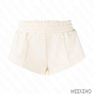 【WEEKEND】 PALM ANGELS 運動 短褲 超短褲 熱褲 白色 20春夏