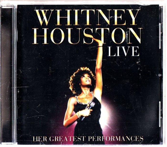 正版CD《惠妮休斯頓》現場登峰極選 / Whitney Houston Live 全新未拆