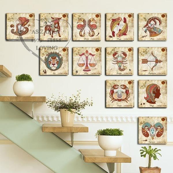 INPHIC-星座物語裝飾畫 裝飾家飾(12款一組)