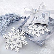 【氣球批發廣場】超人氣歐美婚禮小物 --- 雪花書籤禮盒 婚禮小物 送客禮 情人節 聖誕節 交換禮物