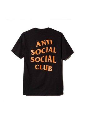 【日貨代購CITY】Anti Social Social Club 短TEE 黑橘 LOGO 文字 現貨