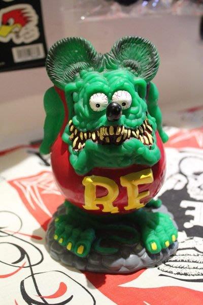 (I LOVE樂多)老品(僅1個)RAT FINK RF老鼠芬克存錢桶 送人或自家收藏都適宜