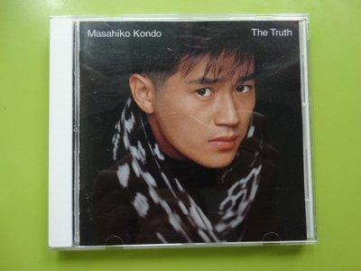 【買2送1】CD 近藤真彥-The Truth(無刮保存佳)