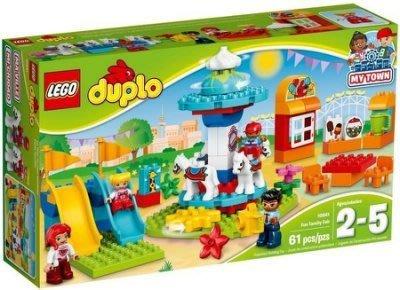 雙寶媽咪─樂高LEGO  DUPLO 得寶系列 FUNFAIR 遊樂場 10841 保證全新正品