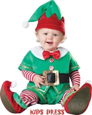 妍媽咪兒童禮服出租~精靈小矮人 聖誕造型服男孩/女孩周歲攝影生日派對