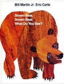 『大衛』Eric Carle 艾瑞卡爾 Brown Bear, What Do You See? 原文厚紙版硬頁書+CD