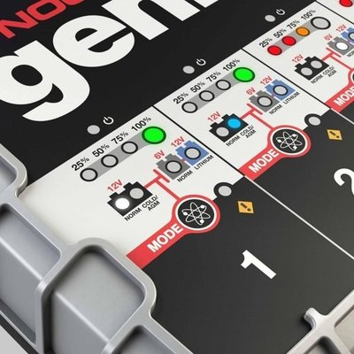 ☎ 挺苙電池 ►【NOCO Genius】G4 充電器 12V 6V /適合充WET.GEL.鉛酸.EFB.AGM.鋰鐵