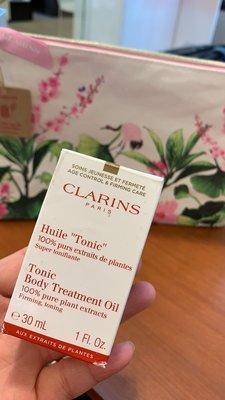 CLARINS 克蘭詩身體調和護理油30ML全新專櫃貨,孕婦必備身體油,效期到2021/ 11,可參與賣場三件島內免運 台北市