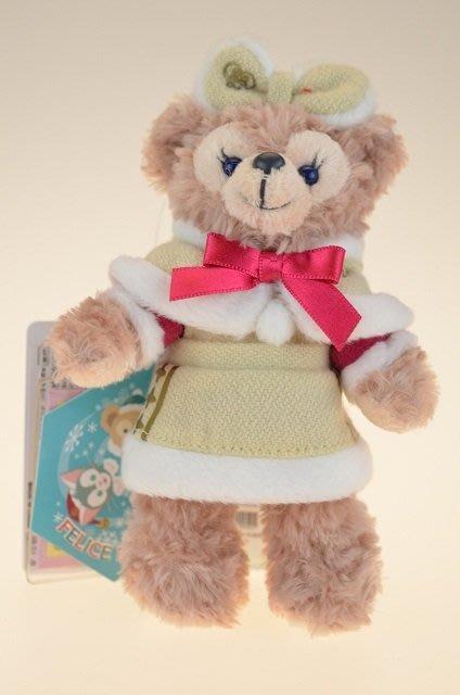 尼德斯Nydus~* 東京迪士尼海洋 達菲熊 雪莉梅 雪莉玫 ShellieMay 聖誕節限定 吊飾 約16cm
