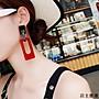 歐美夸張超大長款耳環氣質性感耳墜個性耳飾...