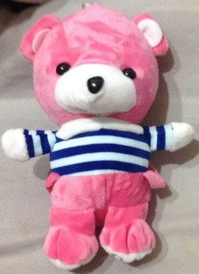 全新粉紅熊