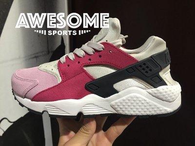 [歐鉉]WMNS AIR HUARACHE RUN PRM 武士鞋 復古 慢跑鞋 女鞋 683818-006