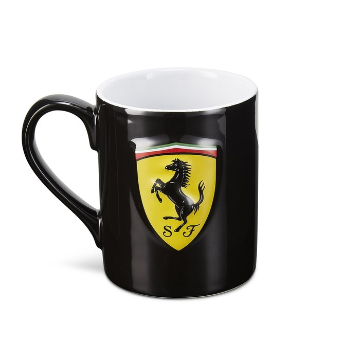 Ferrari 3D黑色馬克杯2020🆕