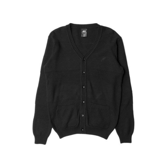 ☆AirRoom☆【現貨】2015 S/S Publish Vick 針織 開襟 毛衣 外套 黑色 2月新款
