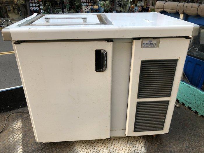 大銓冷凍餐飲設備*【中古】單桶掀蓋式廚餘冷藏庫