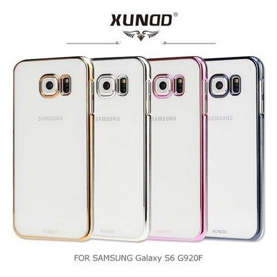 *PHONE寶*XUNDD Samsung Galaxy S6 G920F 爵士電鍍保護殼 保護套 透色殼