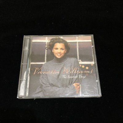 二手 CD Vanessa Williams 凡妮莎威廉絲 The Sweetest Days 專輯 / lo