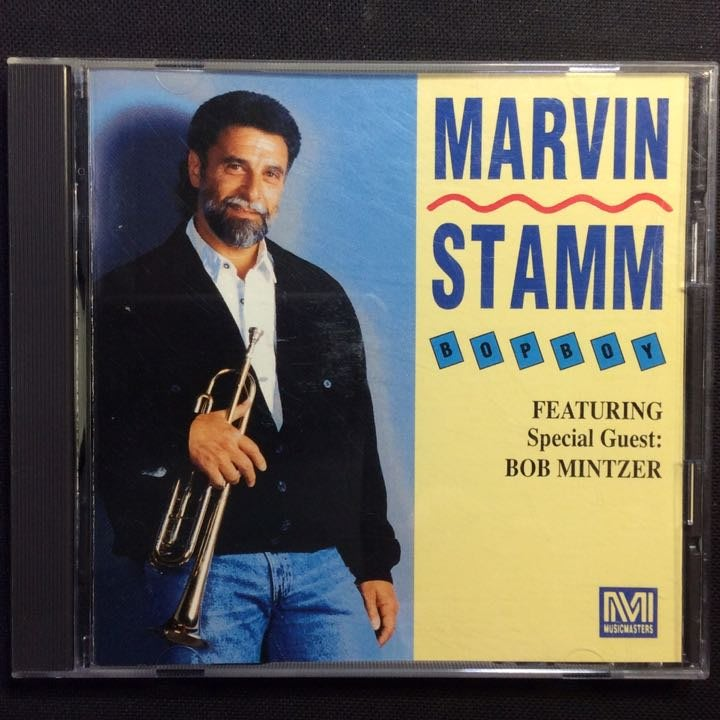 小號(小喇叭)Marvin Stamm馬文.斯塔姆-Bop Boy流行男孩 1990年日本版無ifpi