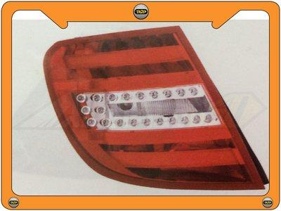 DJD 14-BZ-D0097 BENZ 賓士 W204 C-CLASS 11 WAGON 紅白光柱 LED 尾燈 休旅車