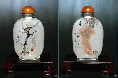 童趣內畫鼻煙壺外事商務禮品出國禮品中國特色手工藝品送長輩手繪 壺說44