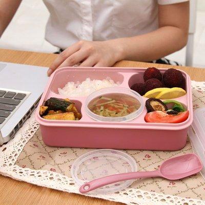 飯盒便攜保溫飯盒便當盒餐盒分隔飯盒子帶湯碗學生飯盒保溫桶飯盒