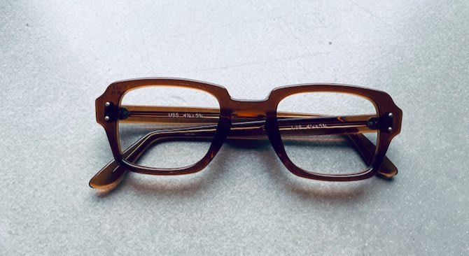 【R】Vintage|1988年美軍公發眼鏡 Birth Control Glasses USA