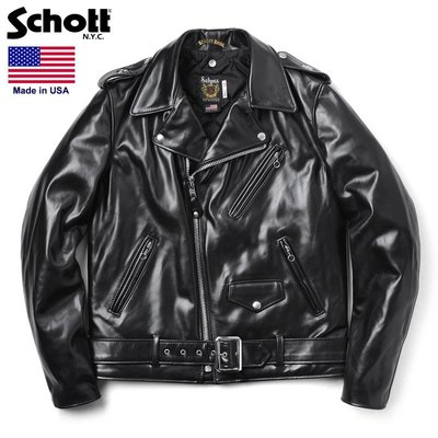 TSU 日本代購 Schott 613UHT HORSEHIDE ONE STAR TALL 7416 真皮皮衣