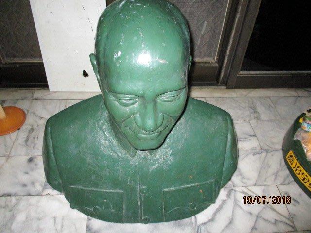 早期 蔣公銅雕 ...謝棟樑 ...稀少....老懷舊..名家..大型
