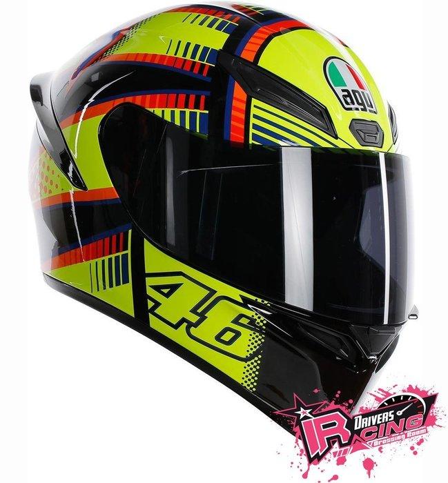 ♚賽車手的試衣間♚ AGV® AGV K-1 Rossi Soleluna Helmet 全罩 安全帽 最新