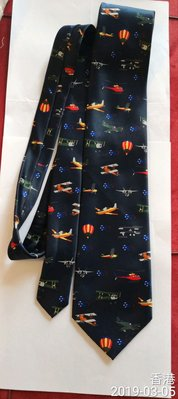 航空飛機領帶 F35A圖案 Australia International Airshow (Avalon) Necktie F35A pattern