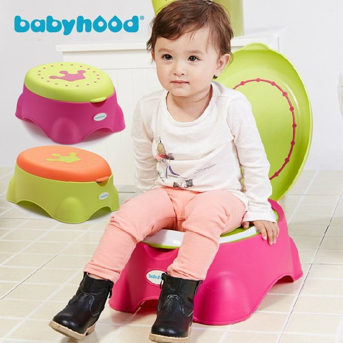 babyhood 皇室多功能座便器 便盆 馬桶 兒童椅 座便圈 收納箱 §小豆芽§ babyhood 皇室多功能座便器