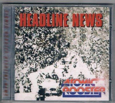 [鑫隆音樂]西洋CD-ATOMIC ROPSTER / HEADLINE NEWS {EAMCD108}/全新