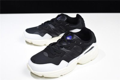 Adidas Originals Yung-96 黑白 低幫 休閒 運動 F97177