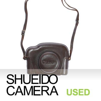 集英堂写真機【1個月保固】中古良上品 / CANON 原廠 相機 皮套 CANON P 旁軸相機用 #3 17679