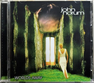 Europe吉他手 John Norum - Worlds Away 二手日版