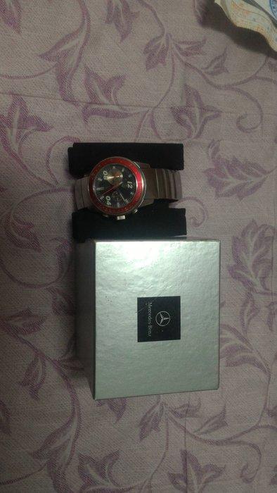 全球限量1000支 全新未使用 值得收藏 生日禮物首選 中華賓士發行 限量賽車手手錶 Mercedes-Benz