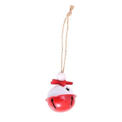 聖誕節裝飾用品彩色鈴鐺掛件聖誕樹配件掛飾小鈴鐺DIY裝飾鐵質