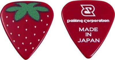 日本限定 草莓PICK 吉他匹克 彈片 Pick 吉他烏克麗麗電吉他貝斯適用