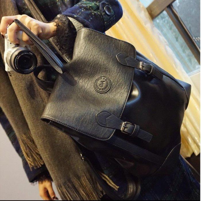 雙肩包大款實用新款英倫簡約學院風雙肩背包書包(任選1入)_☆優購好SoGood☆