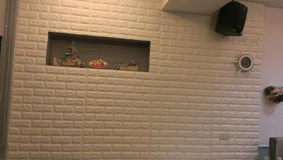 3D立體岩板 磚牆,美髮婚紗,拍照背景牆,水族箱背景壁貼,壁癌覆蓋,兒童塗鴉遮弊.兒童玩具房.幼兒園防撞,電視牆.鄉村風