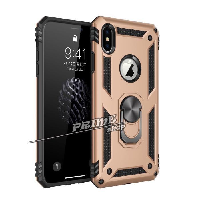 【Prime Shop】蘋果iphoneX XS MAX盔甲防摔指環支架XR手機套保護軟殼 iphone8 6Splus