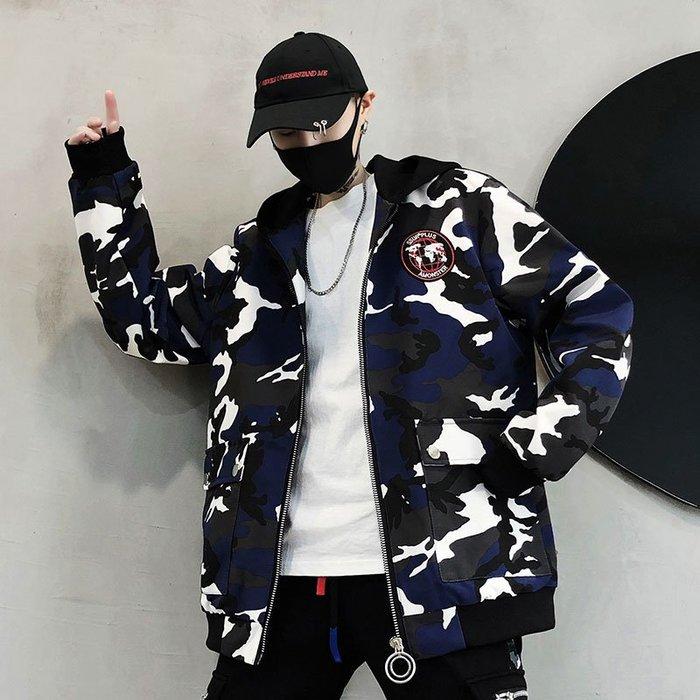 FINDSENSE品牌2019 新春 新款 韓國  長袖 運動 連帽 拼接 套頭字母 外套  時尚 潮流上衣 外套