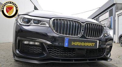 【樂駒】Manhart 德國 改裝 大廠 BMW  G11 G12 碳纖維 carbon 輕量化 套件 前擾流 空力