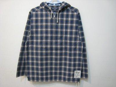 近新 POLO JEANS 藍色系 連帽 長袖 薄上衣/M