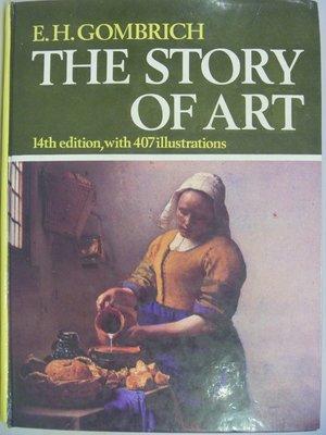 【月界二手書】The Story of Art_Gombrich_14版_1986年  〖大學藝術傳播〗AAF