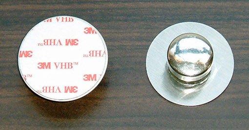 ☆成志金屬☆雙面膠塑膠壁鈕及鋁鋅壁鈕壁柱螺絲組是鉤掛籃架的完美利器。