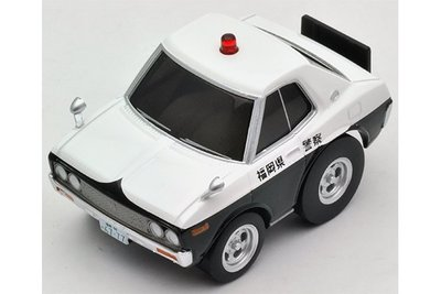 【秉田屋】特價 TomyTec Z07 Choro-Q 阿Q Zero 西部警察 Nissan 日產 Laurel 警車