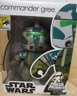 """全新絕版- Hasbro Star Wars Mighty Muggs Comic Con 會場限定 Commander Gree  6""""吋 Figures"""