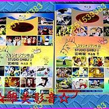 現貨《宮崎駿作品集/宮崎峻作品集》(全新盒裝D9版)☆唯美影音☆