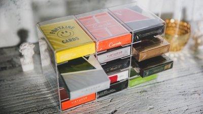 [fun magic] 撲克牌收納櫃 撲克牌收納盒 Playing Cards Crystal Cabinet
